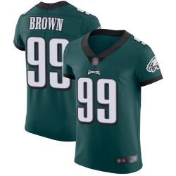 Elite Men's Jerome Brown Midnight Green Home Jersey - #99 Football Philadelphia Eagles Vapor Untouchable