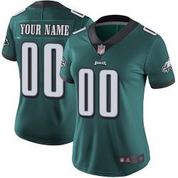 Limited Women's Midnight Green Home Jersey - Football Customized Philadelphia Eagles Vapor Untouchable
