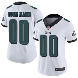 Limited Women's White Road Jersey - Football Customized Philadelphia Eagles Vapor Untouchable