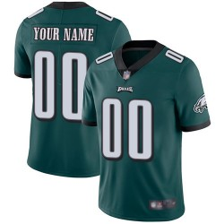 Limited Youth Midnight Green Home Jersey - Football Customized Philadelphia Eagles Vapor Untouchable
