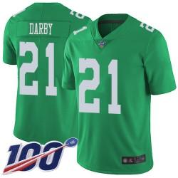 Limited Men's Ronald Darby Green Jersey - #21 Football Philadelphia Eagles 100th Season Rush Vapor Untouchable