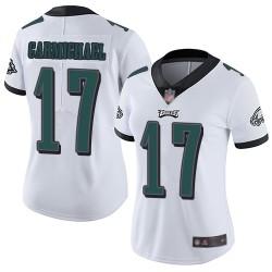 Limited Women's Harold Carmichael White Road Jersey - #17 Football Philadelphia Eagles Vapor Untouchable