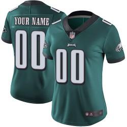 Elite Women's Midnight Green Home Jersey - Football Customized Philadelphia Eagles Vapor Untouchable