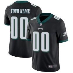 Limited Men's Black Alternate Jersey - Football Customized Philadelphia Eagles Vapor Untouchable