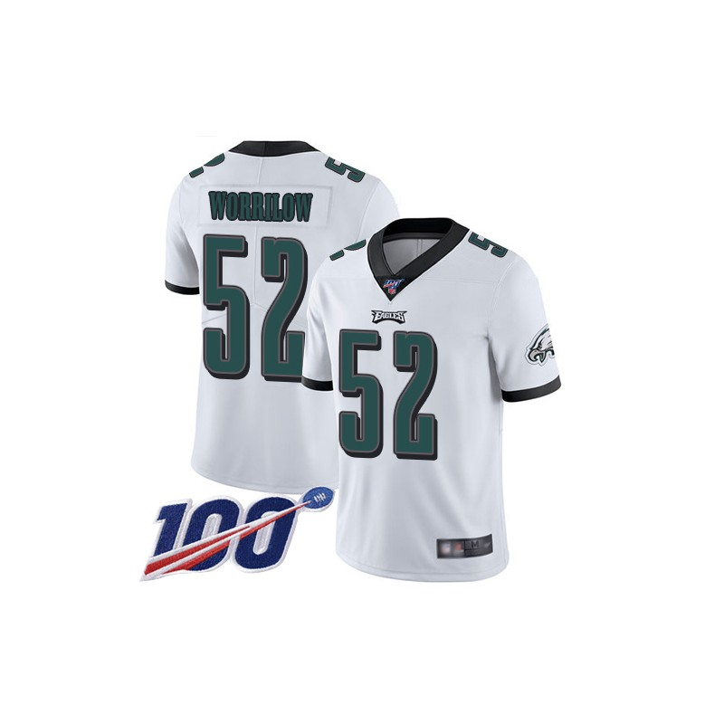 Limited Youth Paul Worrilow White Road Jersey - #52 Football ...